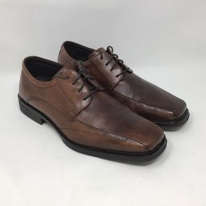 Johnston & Murphy Brown Leather Dress Shoes 9.5